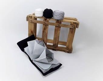 Circular knitting needle Organizer case, knitting needle bag compartments compartment bag circular knitting needles