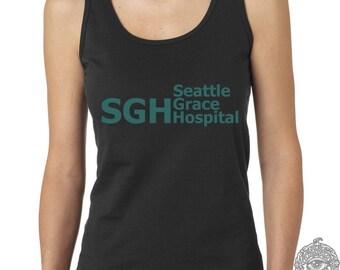 SGH Green Seattle Grace Hospital on Female tank