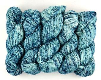 Malabrigo Mechita Poipu 682 Speckled Merino Yarn Superwash Merino Wool Hand-dyed Fingering Single Ply Yarn 420 Yards 100 Gms / 3.53 Oz