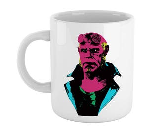 Pop Art Hellboy Mug - inspired by Hellboy (High Quality - Exclusive Gift)
