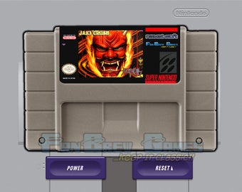 "SPECIAL ORDER! ""Jaki Crush"" Unreleased Super Nintendo SNES Pinball Devil's Crush!"
