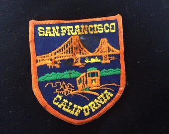 Vintage San Francisco patch.