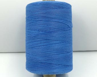 Valdani 50wt. Cotton Thread - #102 Bright Blue Medium Light