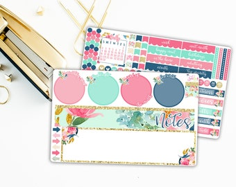 July Floral Notes Kit