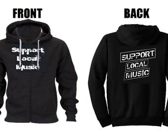 Support Local Music Hoodie