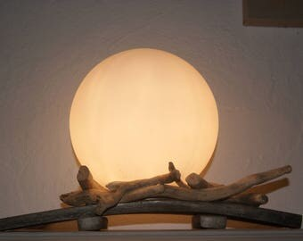 Moon and sea atmosphere lamp