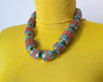 Tibetan necklace 100%