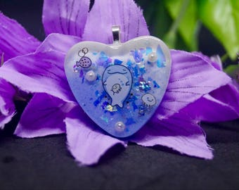 Jinbeisan Resin Keychain/Bag Charm/Stitch marker