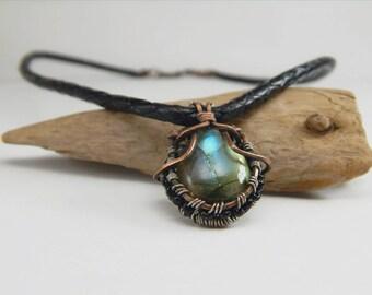 Labradorite Wire Wrap