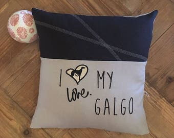 "CUSCINO ""I Love MY Galgo"""