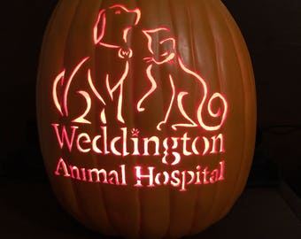 "13"" Pumpkin Business logo send me a pic of your logo"