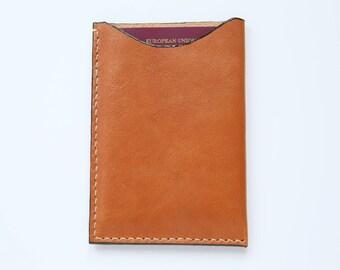 Handmade Classic Leather Passport Case