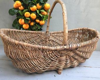 Hazel Brown handmade wicker basket