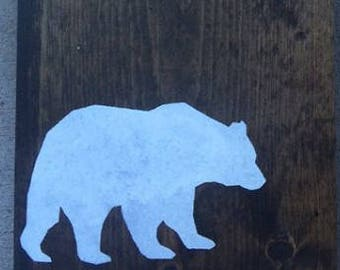 Rustic Woodland Animal Signs
