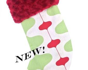 Mod Christmas Stocking