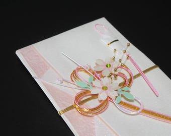 """40.Mizuhiki envelopes This envelope is used for each celebration. A special envelope called """"noshibukuro"""""""