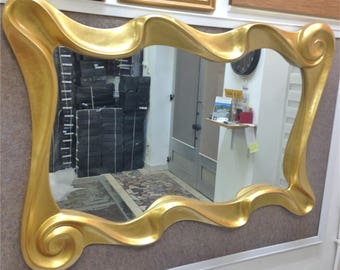 M11 Antique Solid Wood Mirror