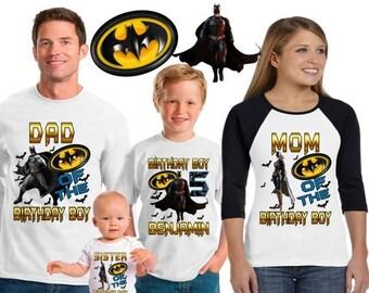 15% Off Batman birthday shirt /Batman shirt /family matching shirts/batman the  dark knight rises birthday party shirt /batman/ family shirt