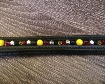 """Germany inspired extra small dog collar 10""""-12"""" neck"""