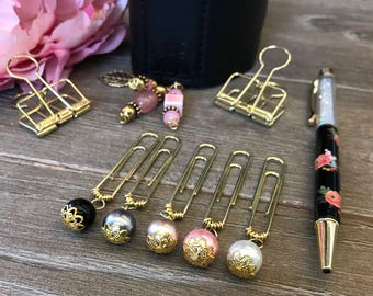Sweet Glam Bead Planner Clips
