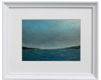 11x14 - Calm Waters on a Cloudy Day - Art Print