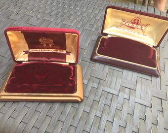 Vintage watch boxes- choose from BOND and ELBON