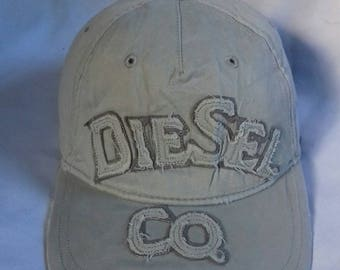 Rare vintage rugged Cap Diesel Co. Metal buckle tuck in style one size only
