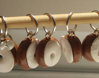 Donut Stitch Markers (Set of 5)