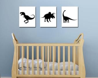 Dinosaur Decor - Dinosaur Nursery - Dinosaur Wall Art - Dinosaur Nursery Art - Nursery Decor - Baby Boy Nursery - Dinosaur Print - Printable
