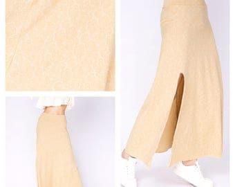 Long bohemian skirt, gypsy skirt, burning man skirt, maxi skirt, printed skirt, hippie skirt, festival skirt, boho skirt, tribal skirt,