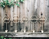 Hex Table Numbers
