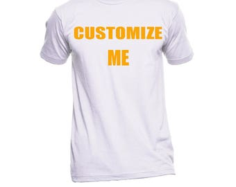 Custom T-shirts, Personalized T-Shirt, Custom Apparel, Men's Custom T-shirts