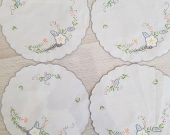 Set of 4 placemats