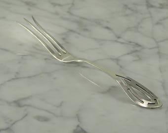 Sterling Silver Lemon Fork by Baker Manchester