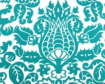 Premier Prints Fabric | Premier Prints Amsterdam True Turquoise | Designer Fabric | teal Fabric | Upholstery Fabric | Fabric by the yard