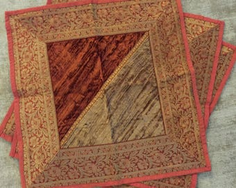 3 Indian style table covers.