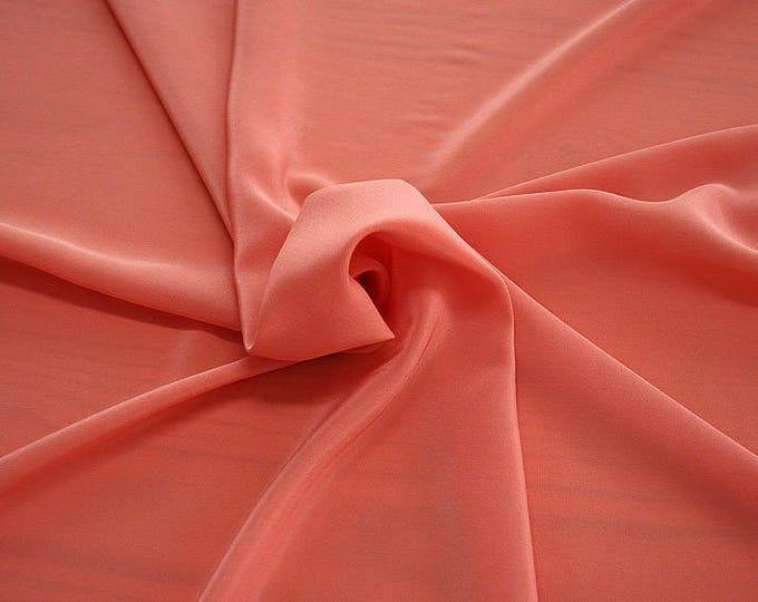 301105-Chinese natural silk crepe 100%, width 135/140 cm, made in Italy, dry cleaning, weight 88 gr