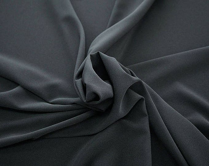 905189-Crepe 100% Polyester, width 150 cm, made in Italy, dry washing, weight 306 gr