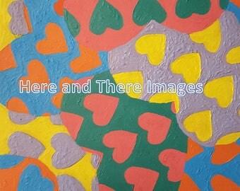 PRINTS: Acyrlic Hearts (2000)