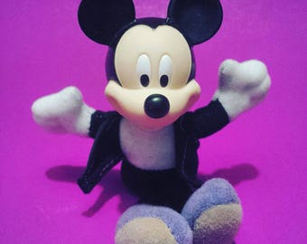 MICKEY MOUSE House Of Mouse small plush doll Walt Disney McDonalds toy toys Minnie Donald Pluto vintage retro 80s 1980s 90s '90s 90's 1990s