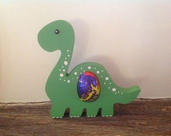 Easter dinosaur creme egg holder
