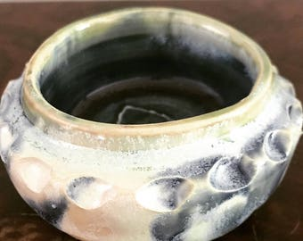 Carved Odd Pot