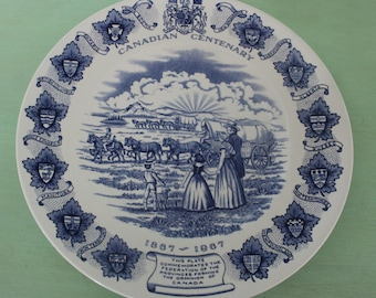 Canadian Centenary Plate 1867 1967