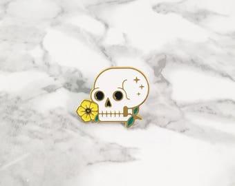 Memento Enamel Pin