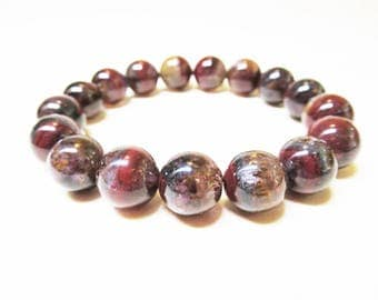Auralite 23 Bracelet 10mm Auralite 23 Gemstone Bracelet Healing Bracelet Mala Bracelet Spiritual Bracelet Natural Auralite 23 Crystal