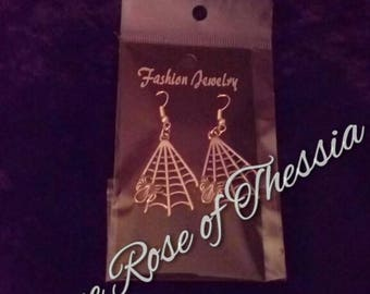 Spider/Webby Earrings