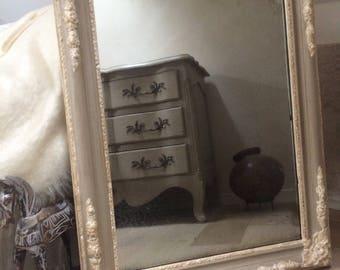Antique mirror mercury style 19th century