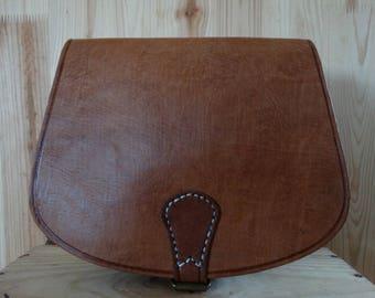 woman leather handbag
