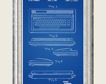 Computer art etsy commodore 64 patent print commodore computer poster commodore 64 art programmer gift malvernweather Choice Image