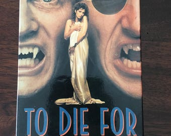 To Die For VHS Video Horror